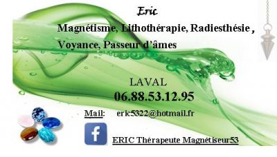 ERIC THERAPEUTE SOINS ENERGETIQUES